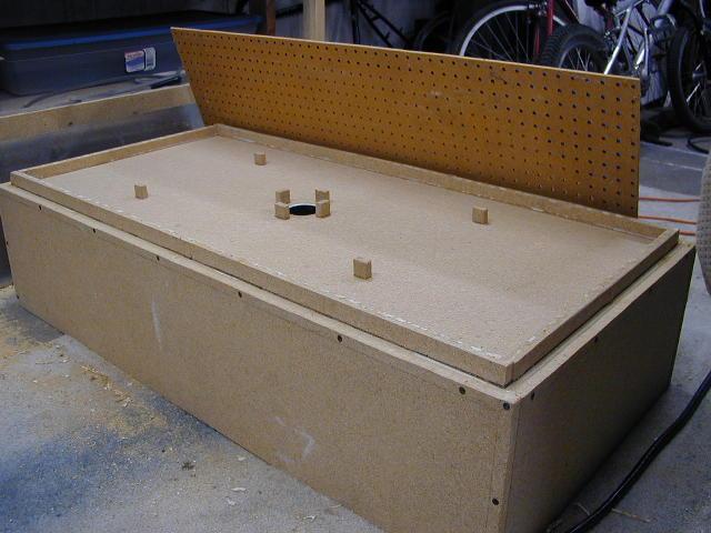 Boddaker's Vacuum Forming Table