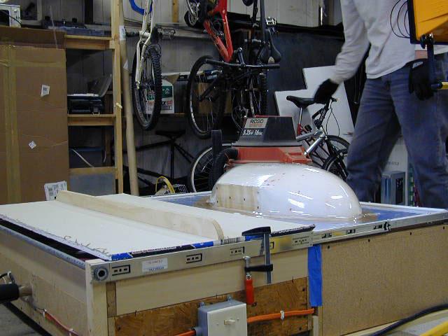 Boddaker S Vacuum Forming Table